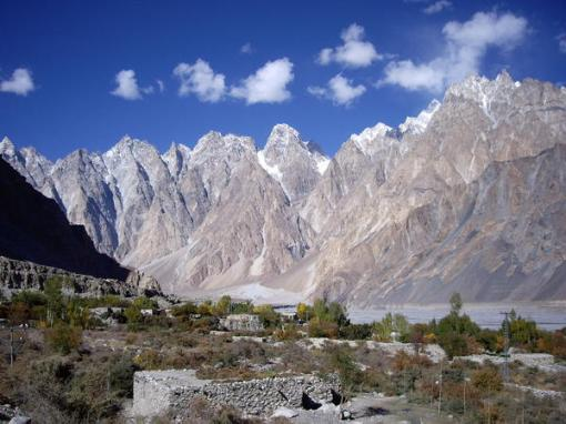 Passu in the Hunza Valley