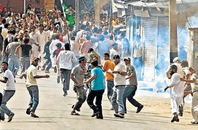 Unrest in Srinagar