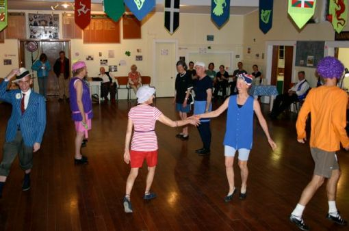 Dancing at the Ceili in Mangonui September 2009
