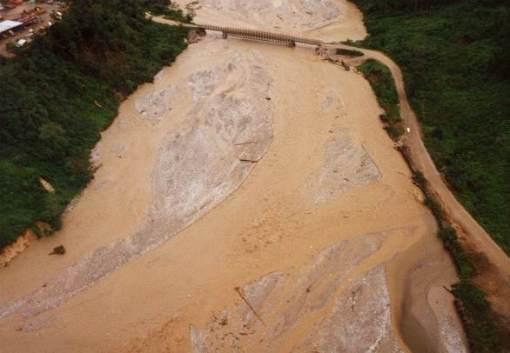 Ok Tedi River at Tabubil