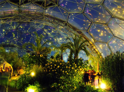 The Eden Project. This Really is a Photo!