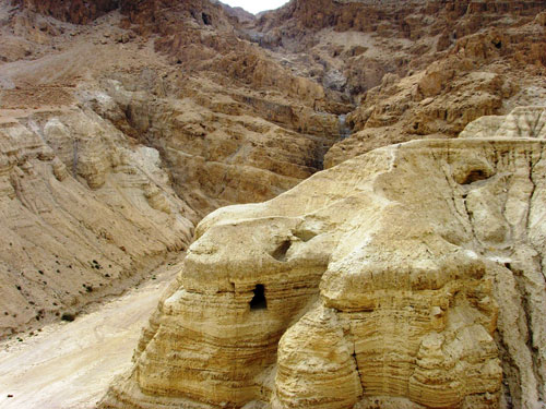 Essene Caves at Qumran