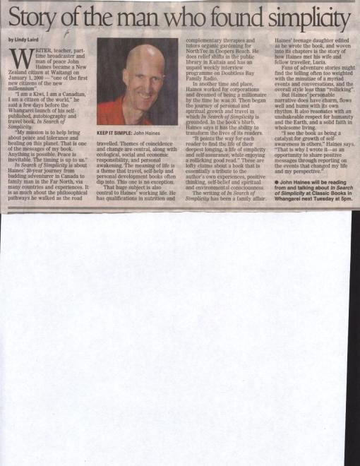 Northern Advocate July 2009