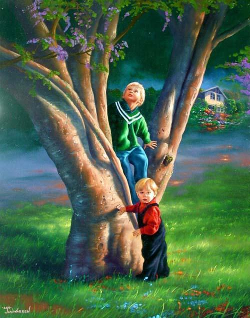 Have you Found Your Ways to Serve Children on  Tree 110609