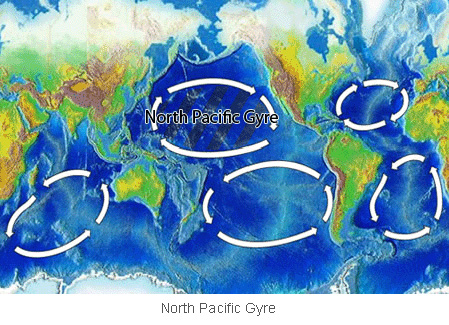 North Pacific Trash Vortex