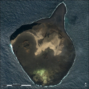 Infant island of Surtsey, Iceland (formed 1963-67)