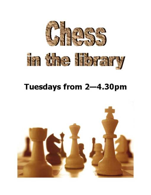 Weekly Chess poster 2013