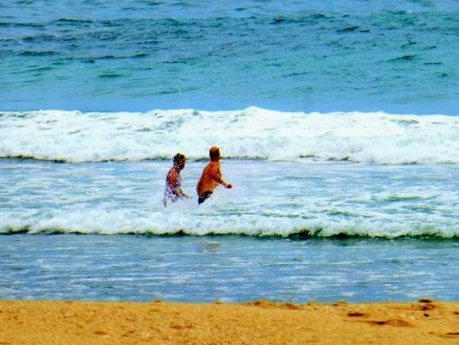 A dip at midday.