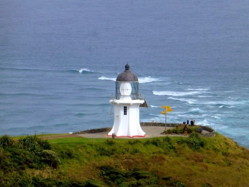 Cape Reinga. The meeting of two oceans.